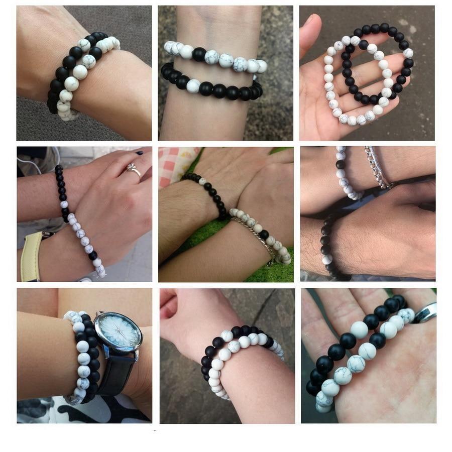 Bracelet Perle Pour Couple